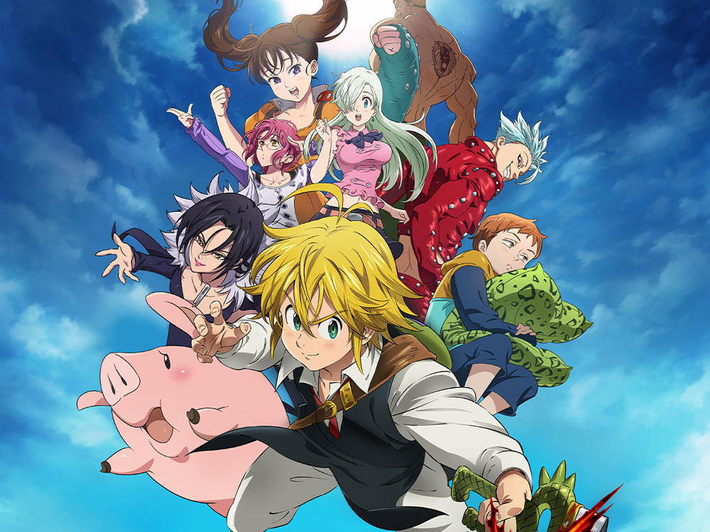 """#Recensione dell' #Anime: """" #SevenDeadlySins""""."""